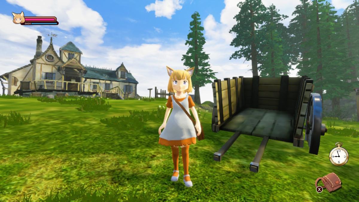 『ジラフとアンニカ』の画面
