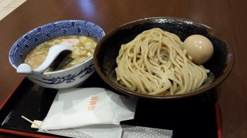 羽田空港でつけ麺画像