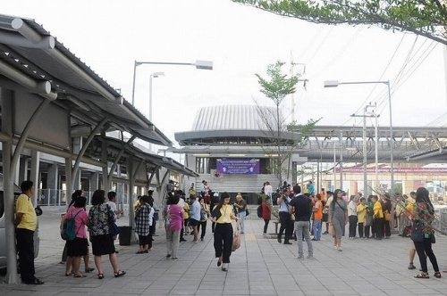 MRTパープルラインの名前画像