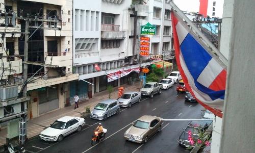タイのハジャイの街画像