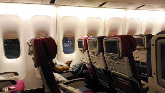 タイブログ タイ航空機内画像