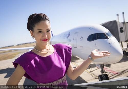 タイ航空A350画像