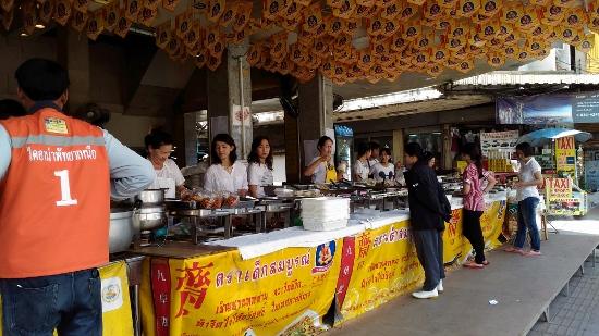 タイのキンジェー菜食祭り画像