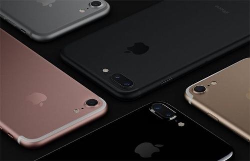 タイのiPhone7のカラー5色画像