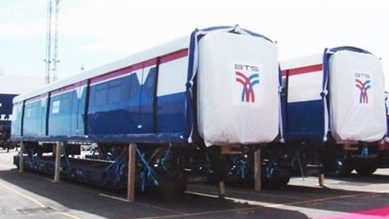 タイのBTS車両画像