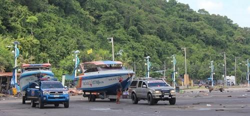 パタヤのバリハイ桟橋画像