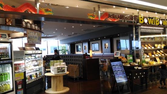 成田空港のアジアンカフェ画像