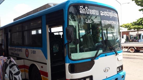 タイのバス画像