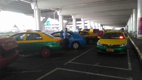 ドンムアン空港のタクシー画像