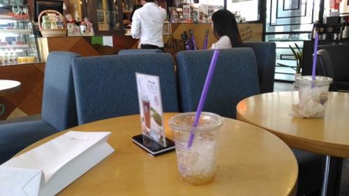 プノンペンタワーのカフェ画像