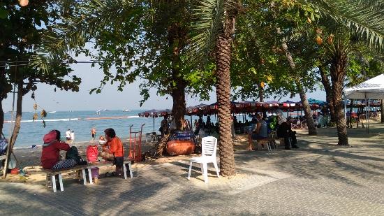 パタヤビーチ画像