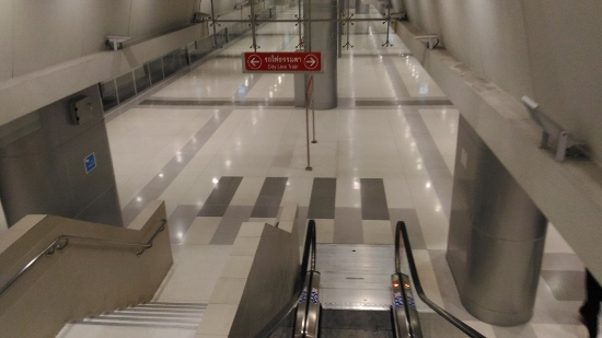 SRTスワンナプーム空港駅画像
