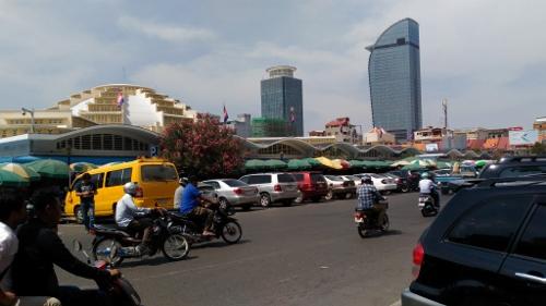 プノンペンのセントラルマーケット画像