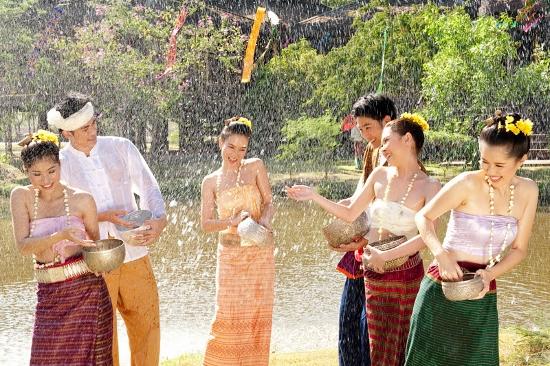 タイのソンクラーン2017画像