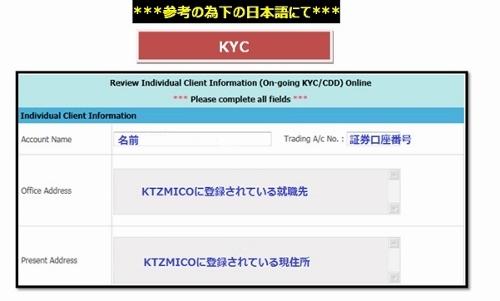 タイ株KYC画像