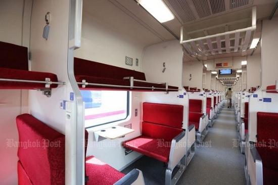 タイの寝台列車画像