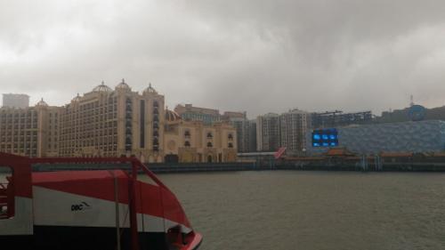 マカオの外港フェリー画像