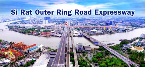バンコクの高速道路画像