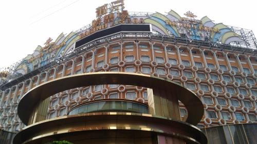 マカオのカジノ「リスボア」画像