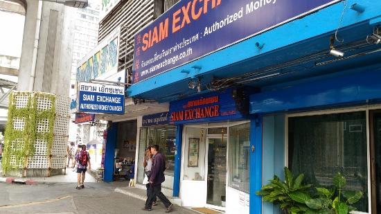 バンコクで両替え画像