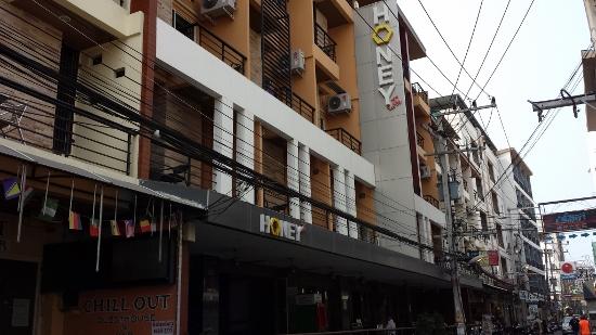 パタヤのハニーインホテル画像