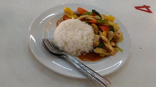 タイのぶっかけ飯画像