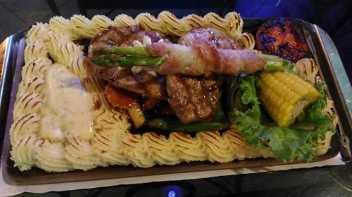パタヤの洋食画像