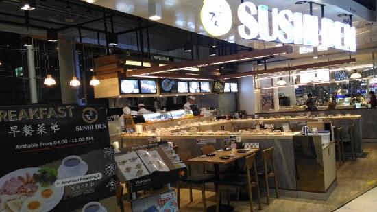 スワンナプーム空港ので日本食画像