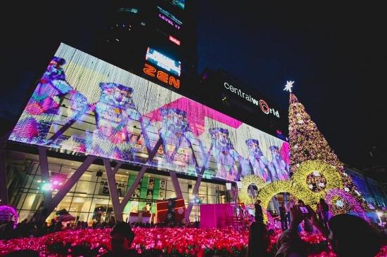 タイで2018年新年画像
