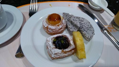 リスボアホテルの朝食ビュッフェ画像