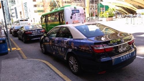 マカオの便利なタクシー画像