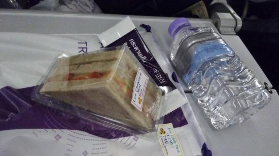 タイ航空の機内食画像