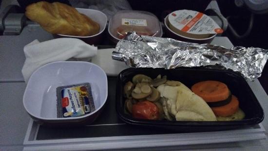 タイ航空の低カロリー機内食画像
