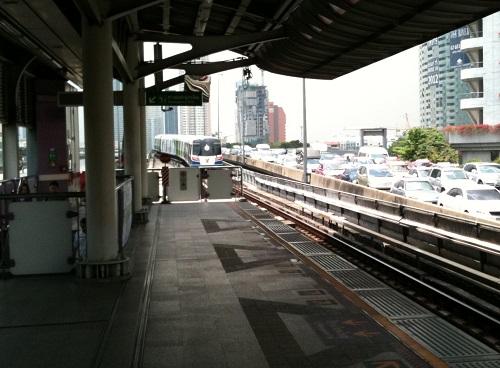 バンコクのBTS画像