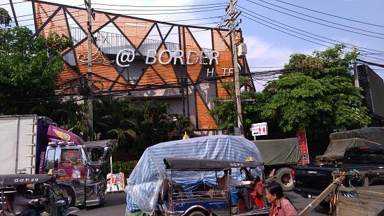 カンボジア国境のアットボーダーホテル画像