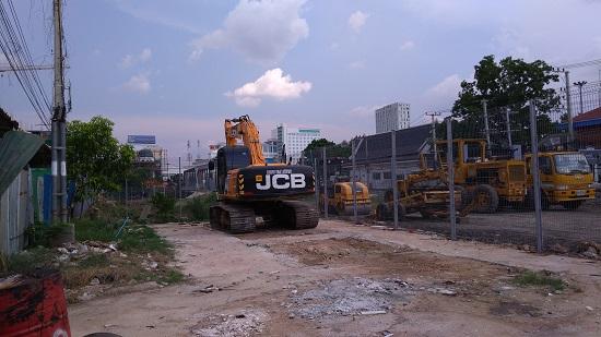 タイカンボジア鉄道開通画像