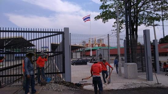 タイバンクローンルック国境駅画像