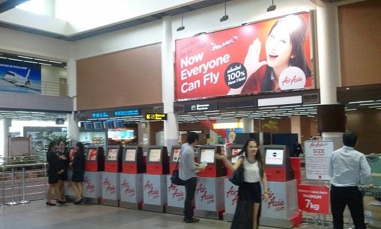 タイでエアアジアLCCで安く移動画像