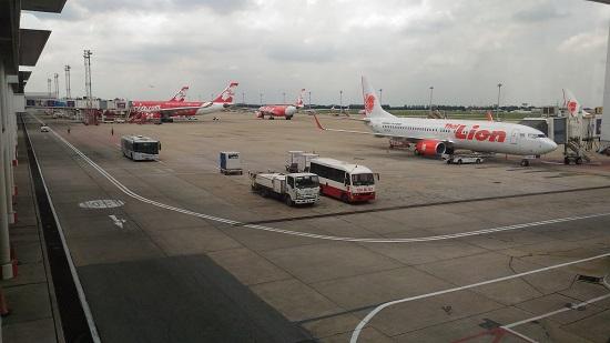 バンコクのLCCドンムアン空港画像