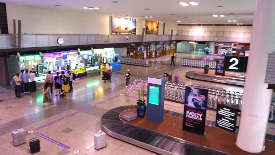 ドンムアン空港からタイ入国画像