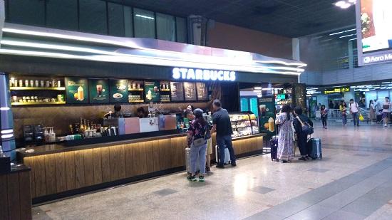 ドンムアン空港のスターバックス画像
