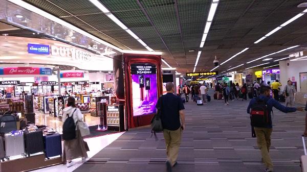 ドンムアン空港の出発ラウンジ画像