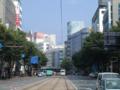 [電車][路面電車]2003-06-13 15:47:50  熊本市繁華街