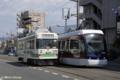 [電車][路面電車][熊本市電]0802, 8201  2009-05-06 14:25:57