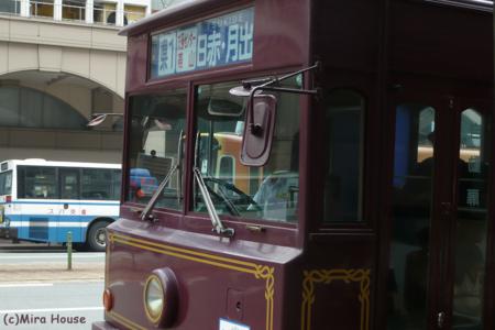 レトロ調バス  2009-06-25 13:34:53