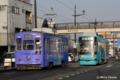 [電車][路面電車][熊本市電]1092&9205  2009-03-10 08:02:02
