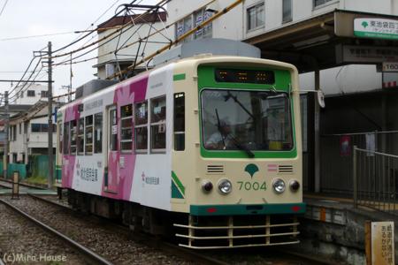 都電荒川線7004  2009-09-04 12:05:32