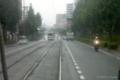 [電車][路面電車][熊本市電]1351から見た1201 2009-09-29 15:20:18