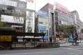 [電車][路面電車][熊本市電]2009-10-09 13:44:43 通町筋電停 夏(肥後あさがお)