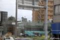 [電車][熊本]2009-10-09 13:31:22 新水前寺架 最終段階